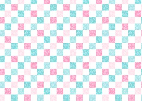 Cherry lattice pattern multicolor ④