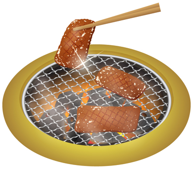 Grilled grilled meat _ Killan