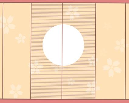 日本風格的背景材料