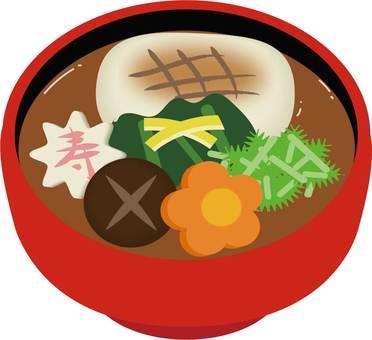 New Year dish