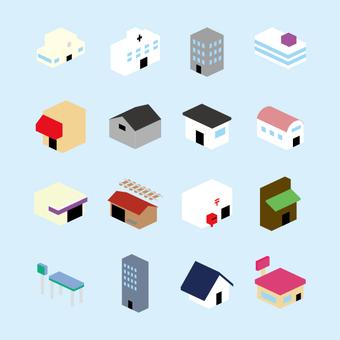 Building icon (color) No wire