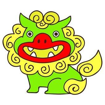Green Shisa