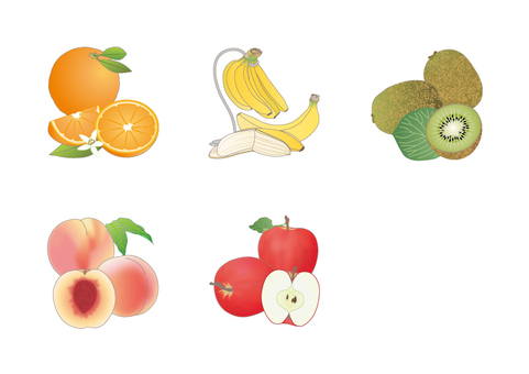 Display Recommended Raw Material 20 items _ Fruit