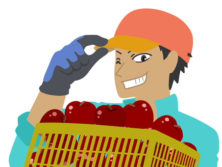Fruit farmer worker