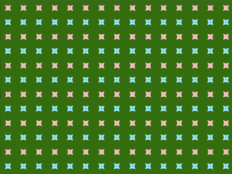 Geometric pattern of green natural image