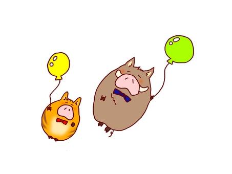 Balloons Pedestrian