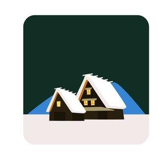 Gokayama's grand pavilion settlement 3