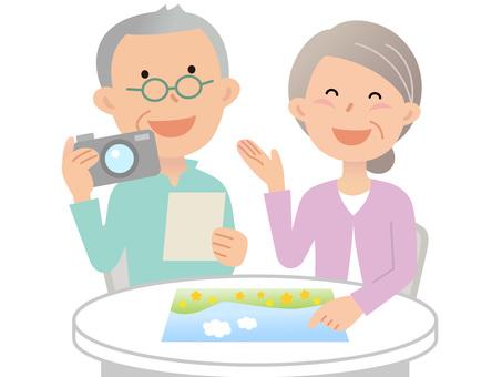 60630. Senior couple, photo