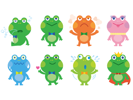 Various frogs