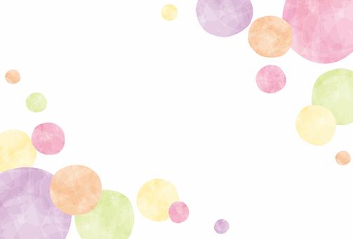 Spring / spring color circle