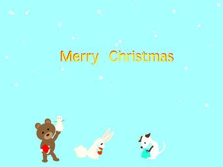 第一場雪的聖誕節