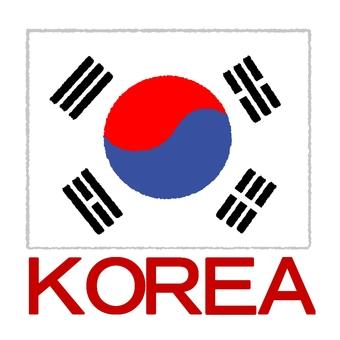 Korean flag ③