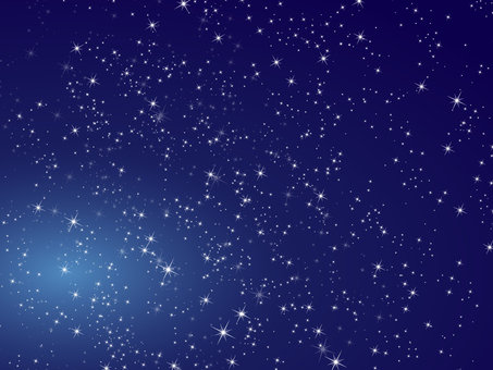 Background glittering stars