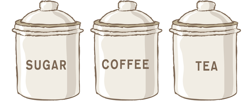 3 kinds of canisters