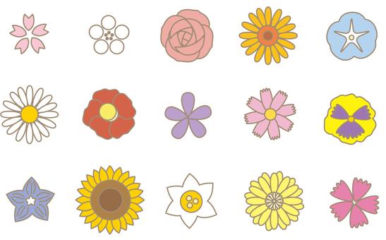 Flower assortment 01