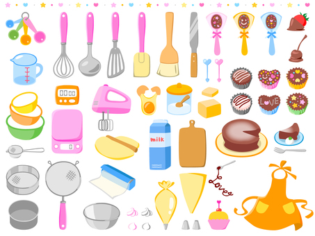 Cake making set