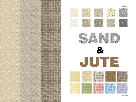 Sand and hemp pattern collection