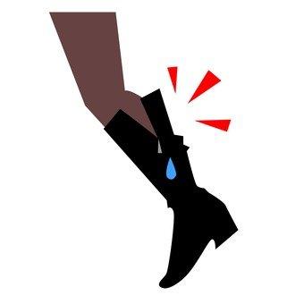 Swelling of feet