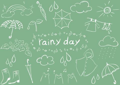 Sketch_rainy季節