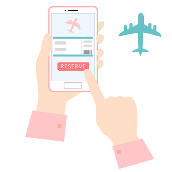 Book a flight with your smartphone