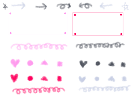 Crayon ruled line · frame