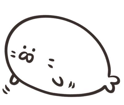 White seal / patter