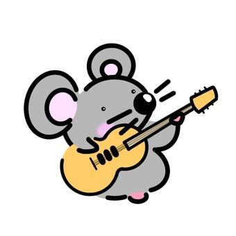 吉他手鼠標
