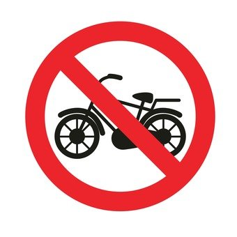 Bicycle parking stoppage