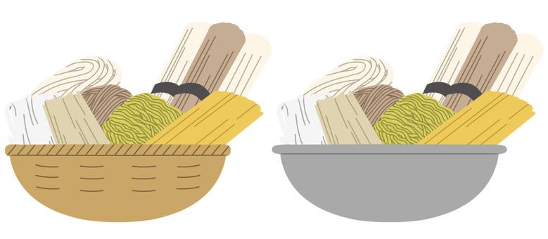 【Stuffing】 Cereals (noodles) * Main line none