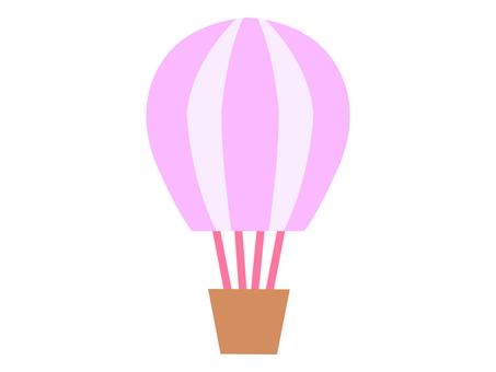 気球 ピンク系