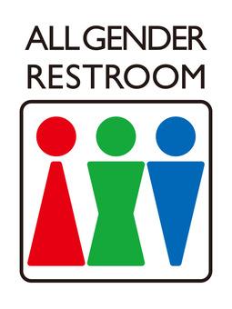 Toilet mark _ All gender 01