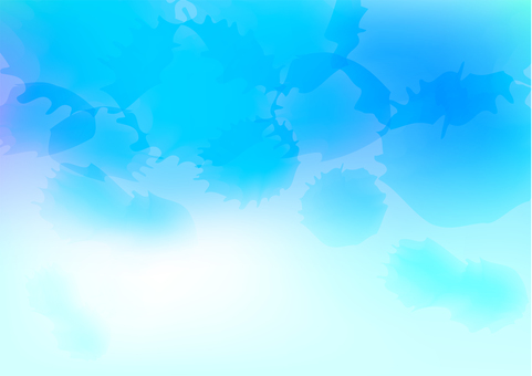 Blue watercolor image background material texture