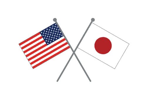 Flag (Japan & America)