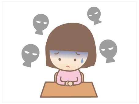 Children - gaze fear