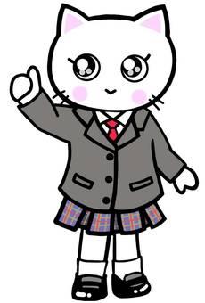 Goo student uniform cat cat cat