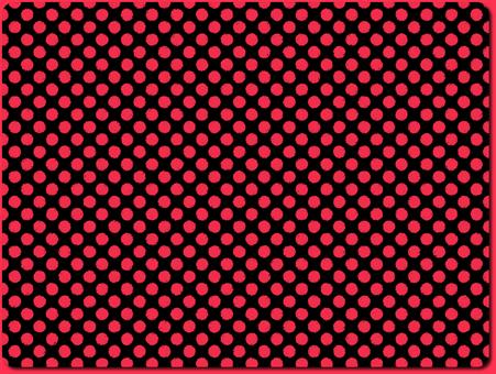 Dot pattern series Black × Pink