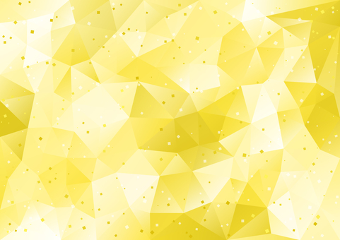 Polygon gold gilt scattering image background