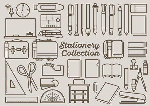 Stationery 1 color