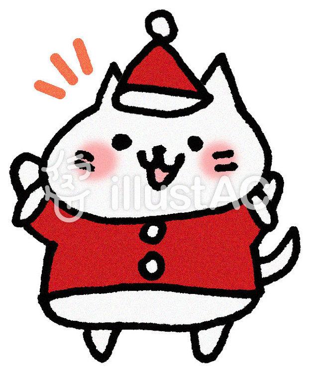 クリスマスねこ3イラスト No 612866無料イラストならイラストac