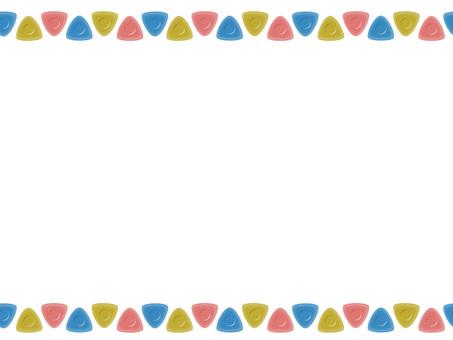 Triangle chakopen line
