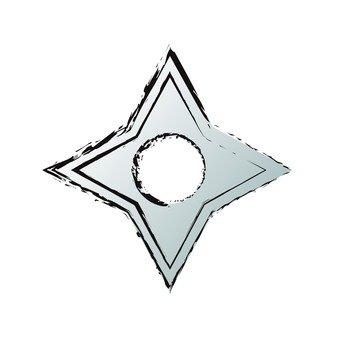 십자 수리검 (4)