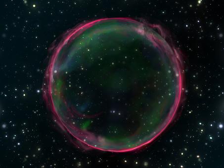宇宙壁紙 超新星残骸①