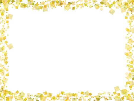 사각 프레임 (노란색 계열)
