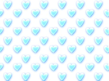 Translucent heart wallpaper blue