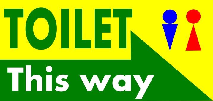 Toilet Information (Right Arrow)