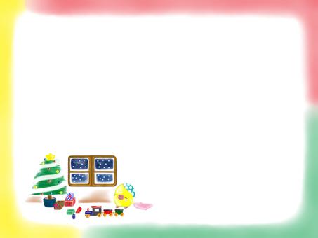 I wonder if Santa is coming.