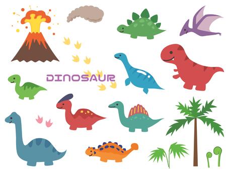 恐竜シルエット イラストの無料ダウンロードサイトシルエットac
