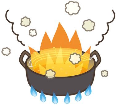 天婦羅火鍋