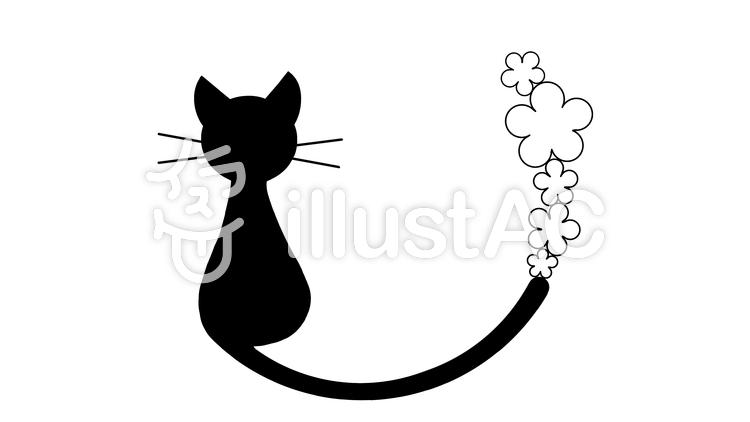 猫と花イラスト No 820966無料イラストならイラストac