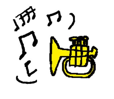 音符和喇叭